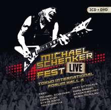 Michael Schenker: Fest - Live Tokyo International Forum Hall A, 2 CDs und 1 DVD