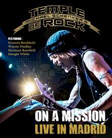 Michael Schenker: On A Mission - Live In Madrid, Blu-ray Disc