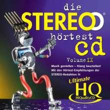 Die Stereo Hörtest CD  Vol. IX (Ultimate High Quality CD), CD