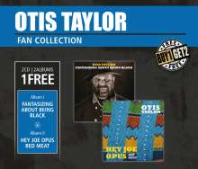 Otis Taylor: Hey Joe Opus Red Meat & Fantasizing About Being Black, 2 CDs