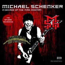 Michael Schenker: A Decade Of The Mad Axeman (The Studio Recordings) (180g), 2 LPs