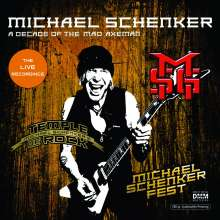 Michael Schenker: A Decade Of The Mad Axeman (The Live Recordings) (180g), 2 LPs