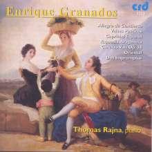 Enrique Granados (1867-1916): Allegro de Concierto, CD