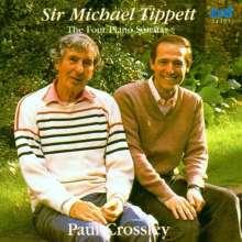 Michael Tippett (1905-1998): Klaviersonaten Nr.1-4, 2 CDs