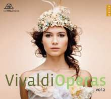 Antonio Vivaldi (1678-1741): Opernarien Vol.2, CD