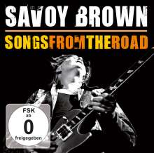 Savoy Brown: Songs From The Road (CD + DVD), 1 CD und 1 DVD