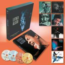 Luther Allison: A Legend Never Dies (Essential Recordings 1976 - 1997) (Limited Numbered Edition), 7 CDs, 4 DVDs und 1 Buch