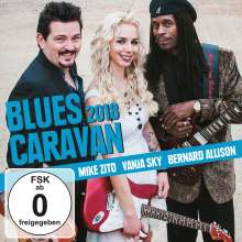 Blues Caravan 2018, 2 CDs