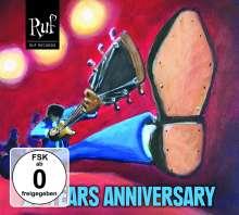 Ruf Records - 25 Years Anniversary, 1 CD und 1 DVD