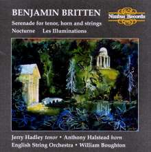 Benjamin Britten (1913-1976): Les Illuminations op.18, CD