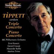 Michael Tippett (1905-1998): Konzert f.Violine,Viola & Cello, CD