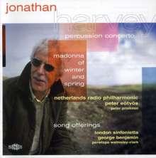 Jonathan Harvey (1939-2012): Konzert für Percussion & Orchester, CD