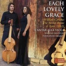 "William Corkine (ca. 17. Jahrhundert): The Second Booke of Ayres - ""Each Lovely Grace"", CD"