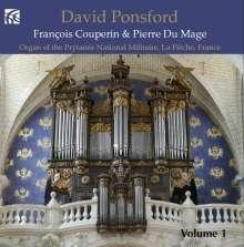 David Ponsford - Französische Orgelmusik Vol.1, CD