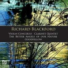 Richard Blackford (geb. 1954): Violinkonzert, CD