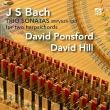 Johann Sebastian Bach (1685-1750): Triosonaten BWV 525-530 (für 2 Cembali), CD