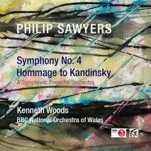 Philip Sawyers (geb. 1951): Symphonie Nr.4, CD