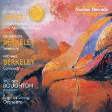 Michael Tippett (1905-1998): Fantasia Concertante on a Theme of Corelli, CD