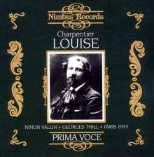 Gustave Charpentier (1860-1956): Louise (Ausz.), CD