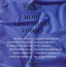 More Legendary Voices, CD