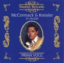 John McCormack & Fritz Kreisler in Recital, CD