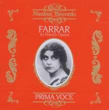 Geraldine Farrar in French Opera, CD