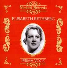Elisabeth Rethberg singt Arien, CD