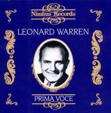 Leonard Warren singt Verdi-Arien & Lieder, 2 CDs