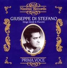 Giuseppe di Stefano singt Verdi & Puccini, 2 CDs