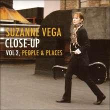 Suzanne Vega: Close Up Vol.2: People & Places, CD