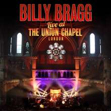 Billy Bragg: Live At The Union Chapel, London, 2013 (CD + DVD), 1 CD und 1 DVD