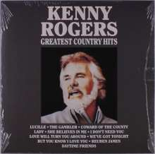 Kenny Rogers: Greatest Country Hits, LP