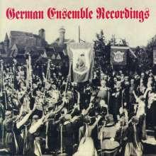 Ludwig van Beethoven (1770-1827): German Ensemble Recordings, CD