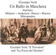 Giuseppe Verdi (1813-1901): Un Ballo in Maschera (Ausz.), CD