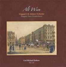 "Carl Michael Ziehrer (1843-1922): Ziehrer-Edition Vol.24 ""Alt Wien"", CD"