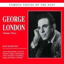 George London singt Arien & Lieder, CD