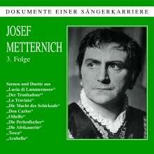 Josef Metternich singt Arien, CD