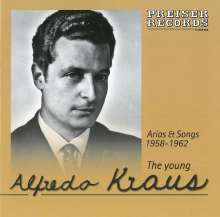 Alfredo Kraus -The Young Alfredo Kraus, CD