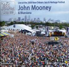 John Mooney: Live At The 2009 New Orleans Jazz & Heritage Festival, CD