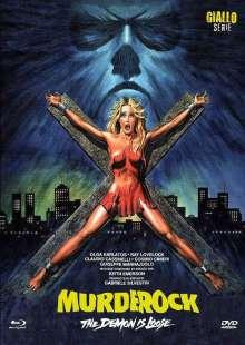 Murder Rock (Blu-ray & DVD im Mediabook), 1 Blu-ray Disc und 1 DVD
