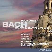 Johann Sebastian Bach (1685-1750): Kantaten BWV 76,79,80, CD