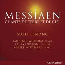 Olivier Messiaen (1908-1992): Lieder, CD