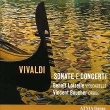 Antonio Vivaldi (1678-1741): Sonaten für Cello & Bc RV 42 & 45, CD