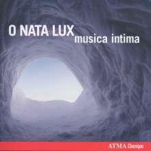 Musica Intima - O Nata Lux, CD