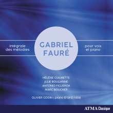 "Gabriel Faure (1845-1924): Lieder ""Integrale des Melodies"", 4 CDs"