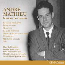 Andre Mathieu (1929-1968): Kammermusik, CD