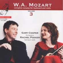 Wolfgang Amadeus Mozart (1756-1791): Sämtliche Sonaten für Violine & Hammerklavier Vol.3, Super Audio CD