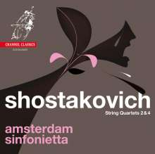 Dmitri Schostakowitsch (1906-1975): Streichquartette Nr.2 & 4, Super Audio CD