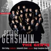 George Gershwin (1898-1937): Songs für Vokal-  & Saxophon-Ensemble, Super Audio CD