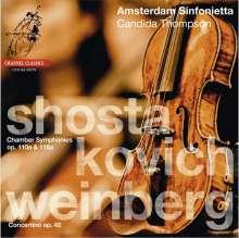 Mieczyslaw Weinberg (1919-1996): Concertino op.42 für Violine & Streichorchester, Super Audio CD